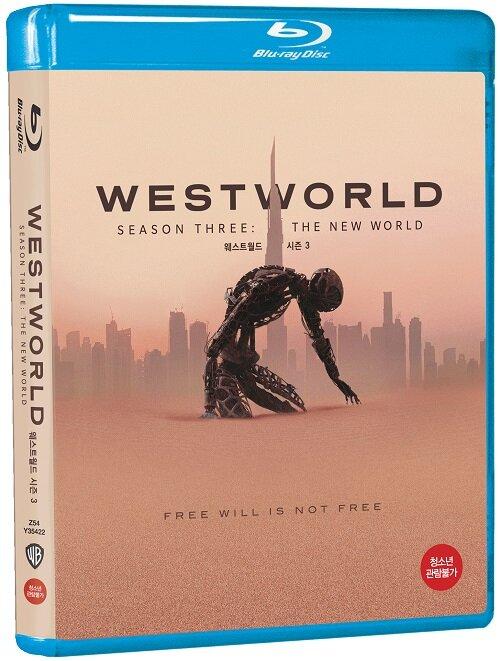 [블루레이] 웨스트월드 시즌3 (3disc)