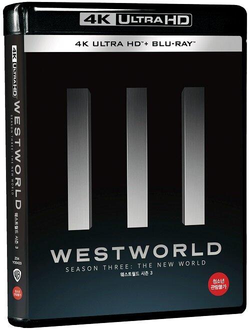 [4K 블루레이] 웨스트월드 시즌3 (6disc: 4K UHD + 2D)
