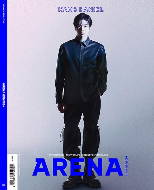 아레나 옴므 플러스 Arena Homme+ C형 2020.11 (표지 : 강다니엘)