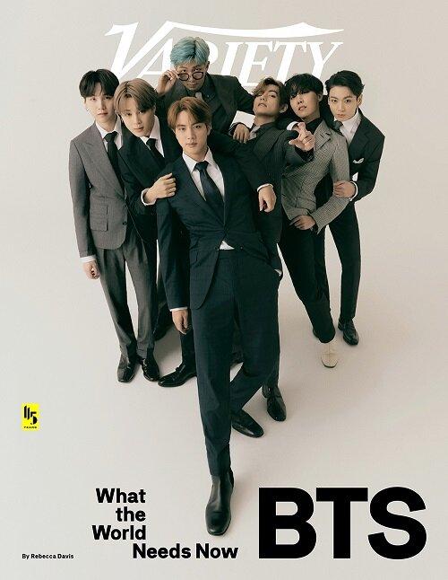 Variety (주간 미국판): 2020년 9월 30일: BTS 방탄소년단 커버