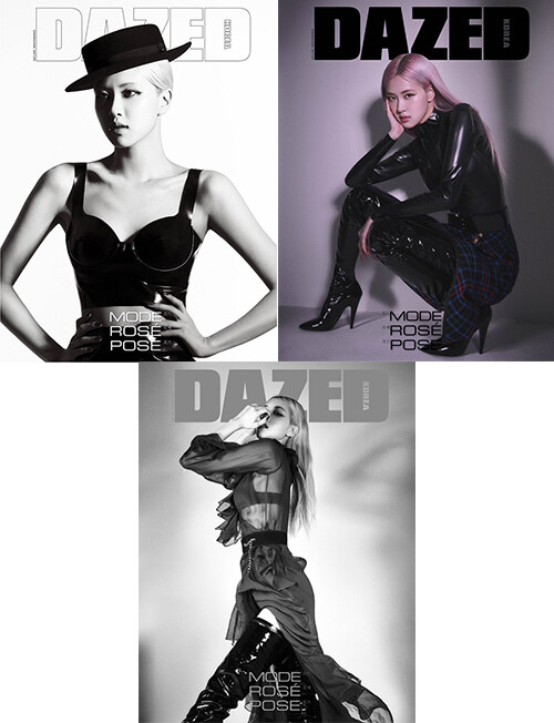 데이즈드 앤 컨퓨즈드 Dazed & Confused Korea 2020.11 (표지 : 블랙핑크 로제, 3종 중 랜덤)
