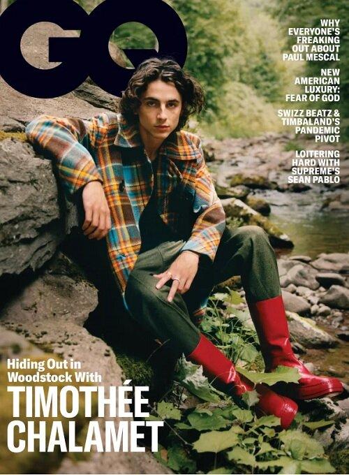 GQ USA (월간 미국판): 2020년 11월호 - 티모시 샬라메 커버