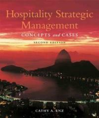 Hospitality Strategic Management : Concepts and Cases (Hardcover, 2nd Edition)