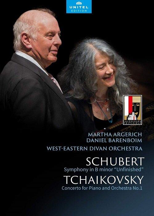[수입] 슈베르트: 교향곡 미완성 / 차이콥스키: 피아노 협주곡 1번
