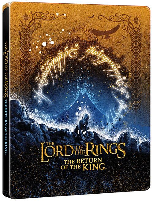 [4K 블루레이] 반지의 제왕 : 왕의 귀환 - 스틸북 한정판 (3disc: 4K UHD Only)