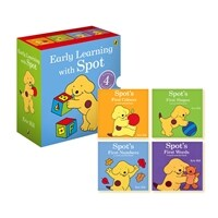 Spot First Concepts : Early Learning with Spot Box Set (Boardbook 4권, 영국판)