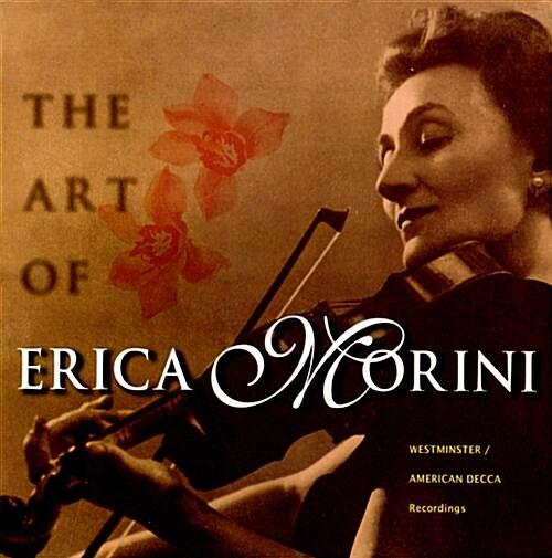 에리카 모리니의 예술 - 웨스트민스터 / 아메리칸 데카 시절 레코딩 전집 [11CD]