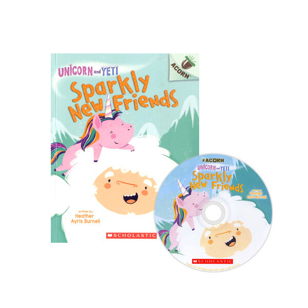 Unicorn And Yeti #1: Sparkly New Friends (Book + CD)