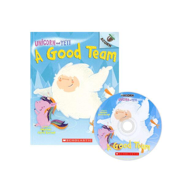 Unicorn And Yeti #2: A Good Team (Book + CD)