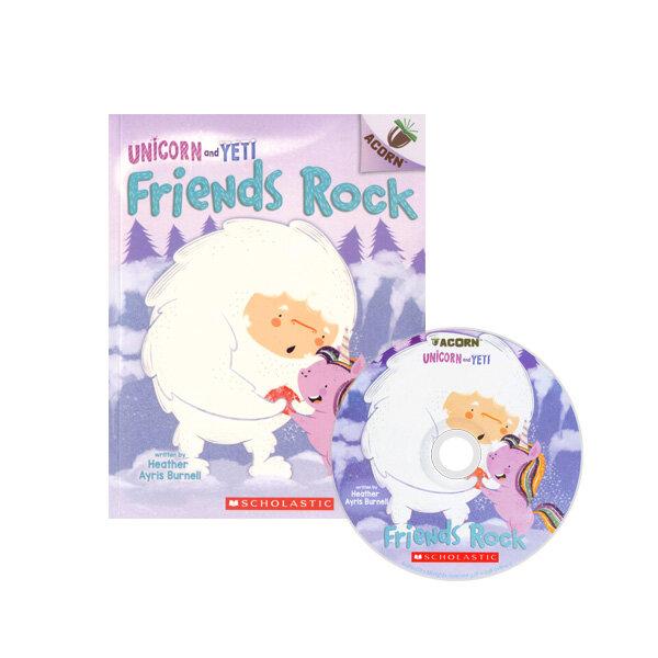 Unicorn And Yeti #3: Friends Rock (Book + CD)