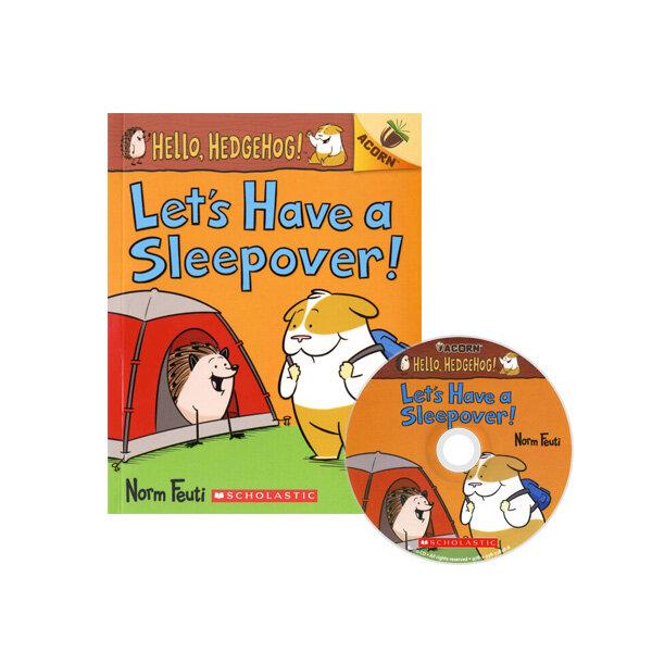 Hello, Hedgehog! #2: Lets Have a Sleepover! (Book + CD)