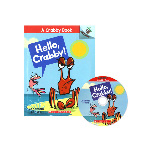 A Crabby Book #1: Hello, Crabby! (Book + CD)