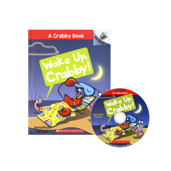 A Crabby Book #3: Wake Up, Crabby! (Book + CD)