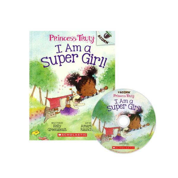 Princess Truly #1: I Am a Super Girl! (Book + CD)