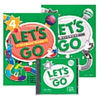 Lets Go 4 Set (Student Book with CD-Rom + Workbook + Audio CD, 2nd Edition)