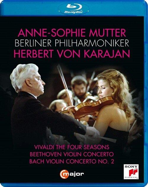 [수입] [블루레이] 비발디: 사계 / 베토벤: 바이올린 협주곡 / 바흐: 바이올린 협주곡 BWV 1042 & 마니피카트 BWV 2043