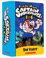 캡틴 언더팬츠 Captain Underpants #1-6 Box Set (Paperback 6권, Full Color Edition)