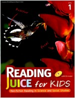Reading Juice for Kids Level 1 (Paperback + Answer Key + Audio CD 1장)