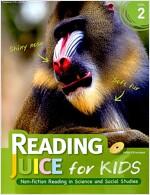 Reading Juice for Kids Level 2 (Paperback, Answer Key, Audio CD 1장 포함)