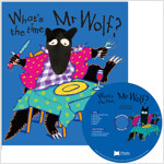노부영 송 애니메이션 세이펜 What's the Time, Mr Wolf? (Paperback + Hybrid CD