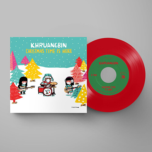 [수입] Khruangbin - Christmas Time Is Here [7 Red LP][Limited Edition]