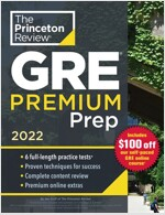 Princeton Review GRE Premium Prep, 2022: 7 Practice Tests + Review & Techniques + Online Tools (Paperback)