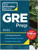 Princeton Review GRE Prep, 2022: 5 Practice Tests + Review & Techniques + Online Features (Paperback)