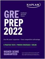 GRE Prep 2022: 2 Practice Tests + Proven Strategies + Online (Paperback)