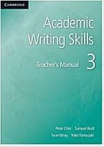 Academic Writing Skills 3 Teacher's Manual (Paperback)