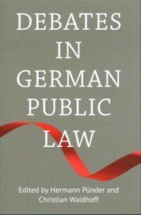 Debates in German public law
