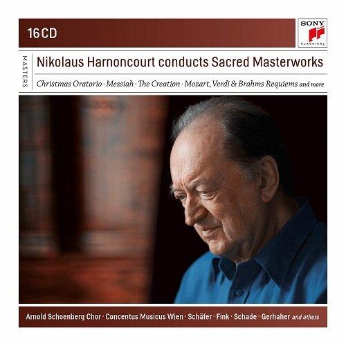 [수입] 니콜라우스 아르농쿠르가 지휘하는 종교음악 작품집 [16CD]