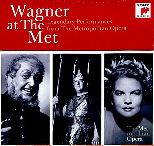 [수입] Wagner At The Met: 메트로폴리탄 오페라의 전설적 바그너 명연집 [25CD 박스세트]