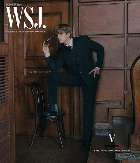 The Wall Street Journal USA (월간): 2020년 11월 BTS 방탄소년단 커버(V)
