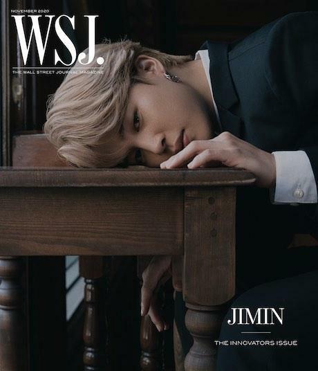 The Wall Street Journal USA (월간): 2020년 11월 BTS 방탄소년단 커버(Jimin)