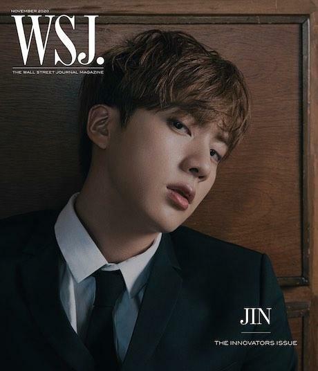 The Wall Street Journal USA (월간): 2020년 11월 BTS 방탄소년단 커버(Jin)