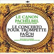 [수입] 파헬벨 : 캐논 & 파슈 : 트렘펫과 두 대의 오보에를 위한 협주곡 [SACD Hybrid Stereo]
