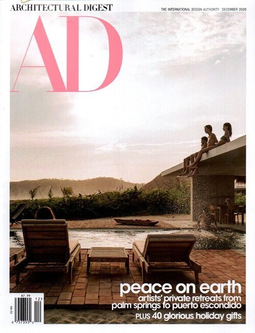 Architectural Digest (월간 미국판): 2020년 12월호