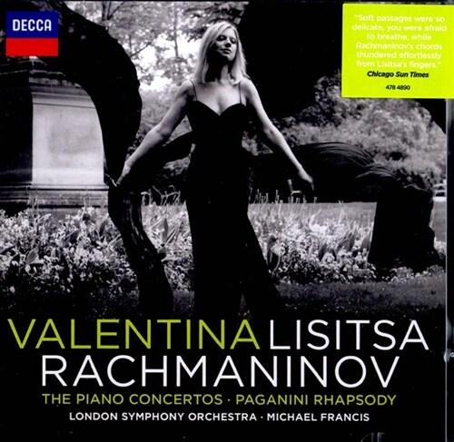 [수입] 라흐마니노프: 피아노 협주곡 전곡 & 파가니니 주제 변주곡 [2 for 1]