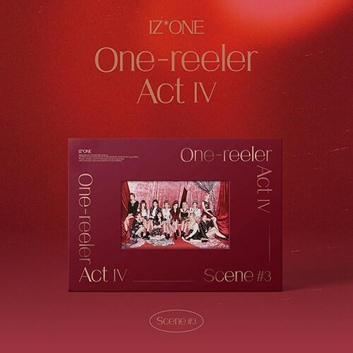 (2회차응모용_원영,민주,히토미,은비) 아이즈원 - 미니 4집  One-reeler / Act IV [Scene #3 'Stay Bold'ver.]