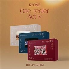 [SET] (2회차응모용_원영,민주,히토미,은비) 아이즈원 - 미니 4집  One-reeler / Act IV [Scene#1+Scene#2+Scene#3 Ver.]