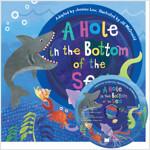 노부영 송 애니메이션 세이펜 A Hole in the Bottom of the Sea (Paperback + Hybrid CD)