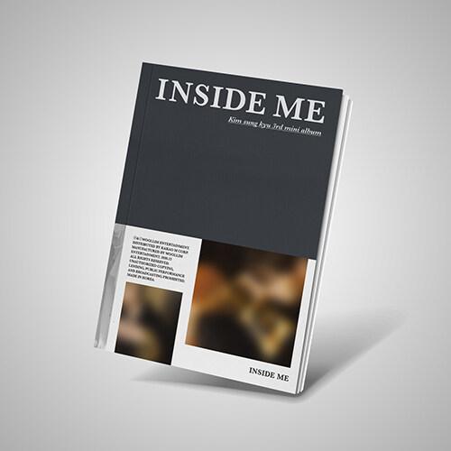 김성규 - 미니 3집 INSIDE ME [A Ver.]