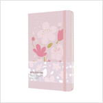 Moleskine Limited Edition Sakura Notebook, Large, Ruled, Dark Pink, Hard Cover (5 X 8.25) (Hardcover)