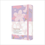 Moleskine Limited Edition Sakura Notebook, Pocket, Plain, Dark Pink, Hard Cover (3.5 X 5.5) (Hardcover)