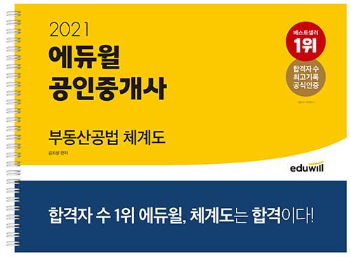 2021 에듀윌 공인중개사 부동산공법 체계도 (스프링)