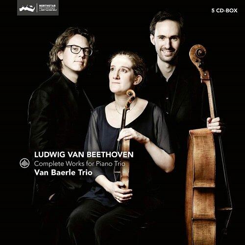 [수입] 베토벤 : 피아노 트리오 전곡 & 삼중 협주곡 op.56 [5 for 2]