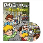 A to Z Mysteries #B : The Bald Bandit (Paperback + Audio CD 1장)