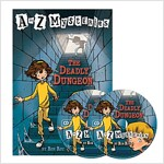 A to Z Mysteries #D : The Deadly Dungeon (Paperback + Audio CD 2장)