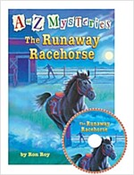 A to Z Mysteries #R : The Runaway Racehorse (Paperback + Audio CD 2장)