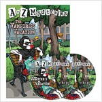A to Z Mysteries #V : The Vampire´s Vacation (Paperback + Audio CD 2장)